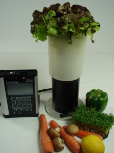 Detect radiation in food.